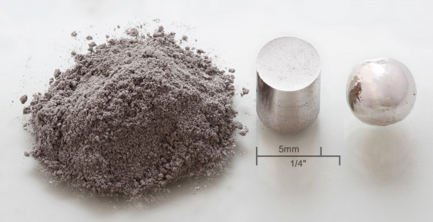 Rhodium_powder_pressed_melted