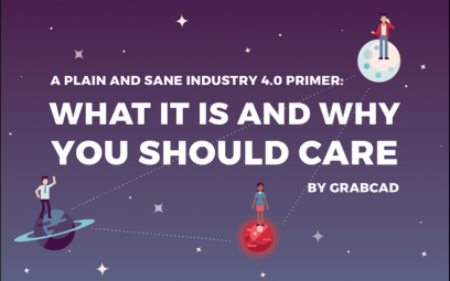 GrabCAD Industry 4.0 Infographic