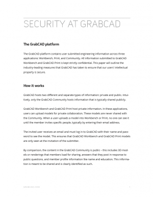 Security at GrabCAD 2