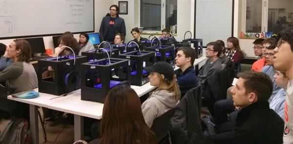 3D Printing on Educational spaces