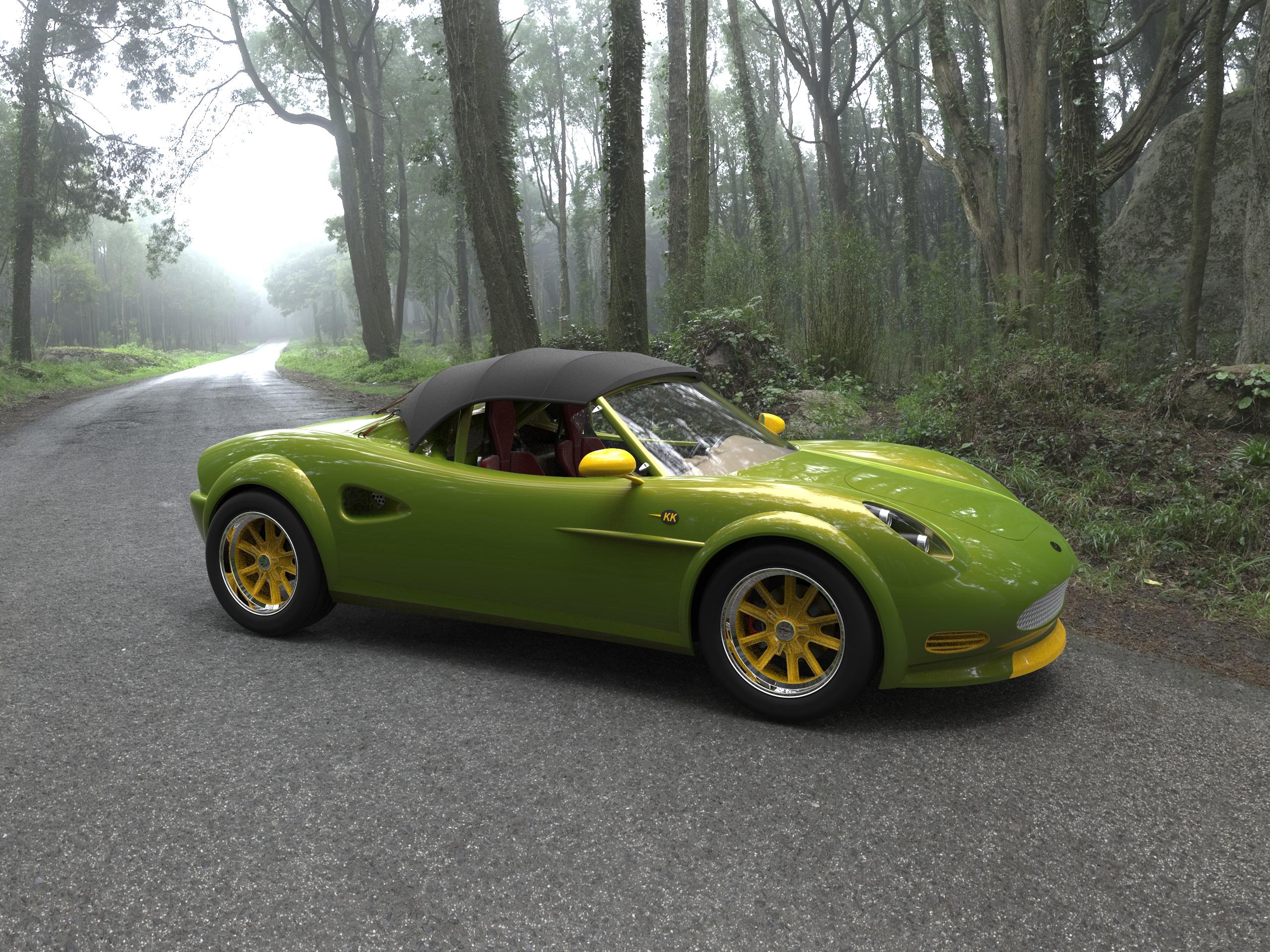 KOLTIS VW 1200 ROADSTER 1111 GrabCAD Blog
