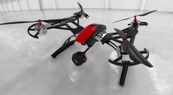 Our Favorite Drone 3D CAD Models from the GrabCAD Community