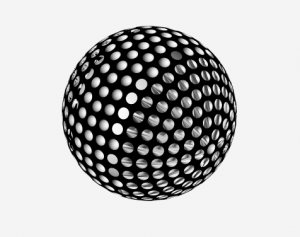 Golf ball for Father's Day