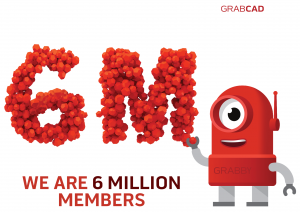 GrabCAD Reaches 6 Million Members