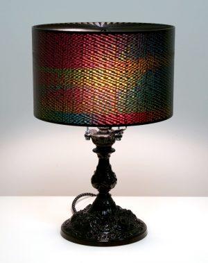 Rainbow Horse Zoetrope Lamp