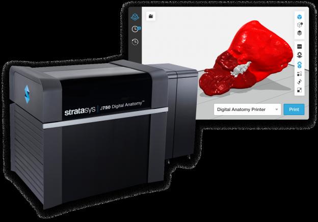 J750™ Digital Anatomy™ 3D Printer