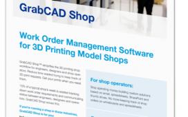 GrabCAD Shop: The Features Brochure