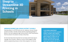 GrabCAD Shop for Schools Case Study