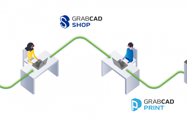 GrabCAD Shop and GrabCAD Print Integration
