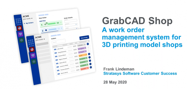 GrabCAD Shop is the Work Order Management Solution You Need In Your 3D Printing Shop