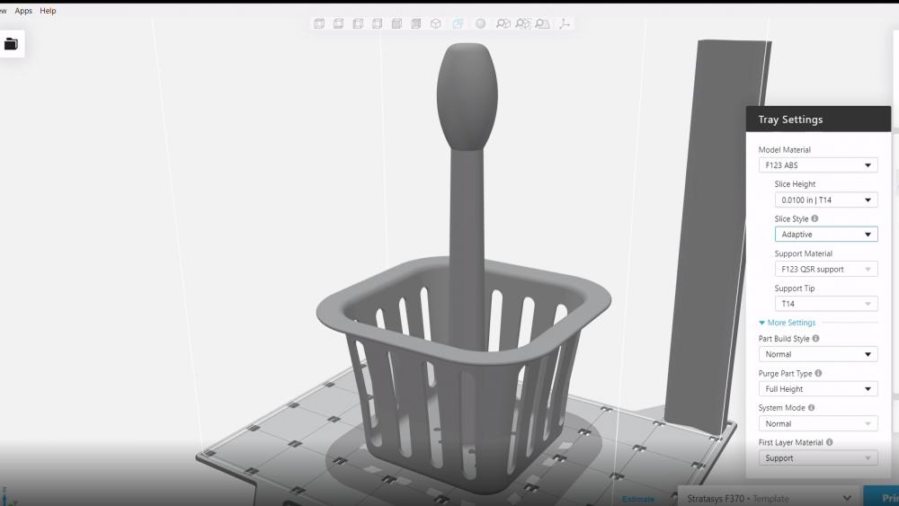 GrabCAD Print Adaptive Slice