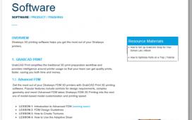 Stratasys Software Curriculum