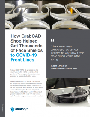 How GrabCAD Shop Helped Get Thousands of Face Shields to COVID-19 Front Lines
